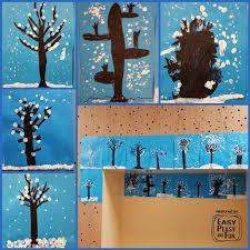 Wonderful Winter Art Idea