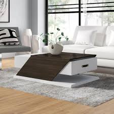 loungetisch encore ebern designs farbe weiß