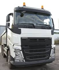 To Fit Volvo FH4 2013+ Advertising Logo Plate Front Grill White ...