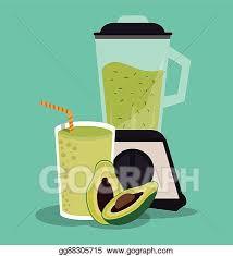 Smoothie Drink Glass Design