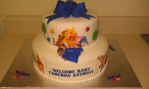 Winnie The Pooh Baby Shower by Tlite Cakes And Planning Winnie The Pooh Baby Shower Cake