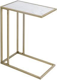 gold marmor sofa laptop c form beistelltisch für kaffee sofa wohnzimmer schlafzimmer