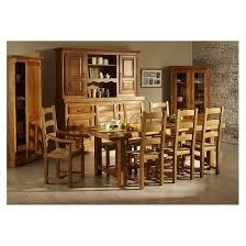 chaise en ch ne massif ensemble table de ferme en chene massif 6 chaises la bresse hellin