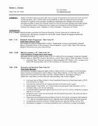 Resume Sample For Store Manager New Noc Supermarket