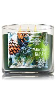 Bath And Body Works Pumpkin Pie by Mahogany Balsam 3 Wick Candle Home Fragrance 1037181 Bath