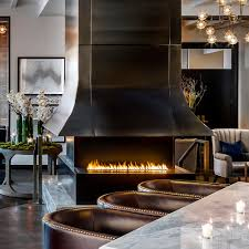 100 European Home Interior Design Natural Gas Fireplace Contemporary Open Hearth 3sided
