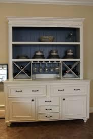 Custom Built Buffet W Hutch Wine Rack China Cabinet