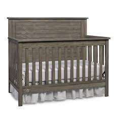 Kohls Nursery Bedding by Price Quinn Gray Full Panel Convertible Crib