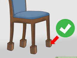 3 Ways To Increase The Height Of Dining Chairs - WikiHow