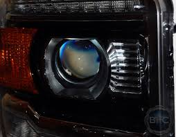 2015 gmc hid projector retrofit headlight package