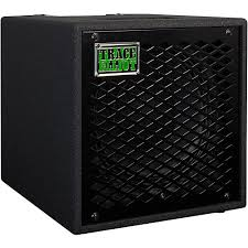 Empty 1x10 Guitar Cabinet by Trace Elliot Elf 1x10 300w Electric Bass Guitar Cabinet Black