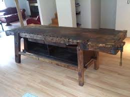 Vintage Woodworking Bench Sale