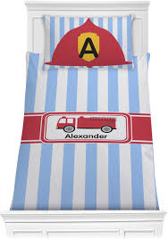 Firetruck Comforter Set - Twin (Personalized) - YouCustomizeIt