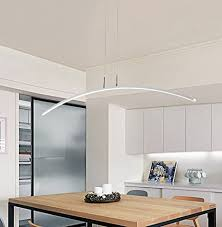 esszimmerleuchte esszimmerle led esszimmer pendelleuchte modern le esstisch studio hängeleuchte weiss licht längeform design hängele