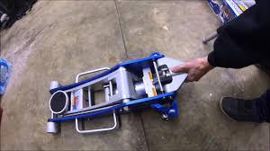 Northern Tool Floor Jack by Harbor Freight Aluminum Floor Jack Unboxing Youtube