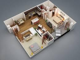 plan de maison 2 chambres plan maison 3d 2 chambres