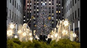 Lighting Of Rockefeller Christmas Tree 2014 by Rockefeller Center Christmas Tree Decorations Youtube