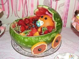 watermelon baby shower idea 1