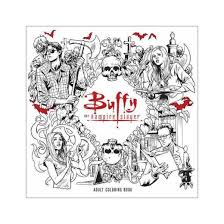 Buffy The Vampire Slayer Adult Coloring Book Paperback