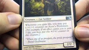 magic the gathering modern black white life gain deck youtube