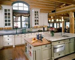 Cottage Country Kitchen Island