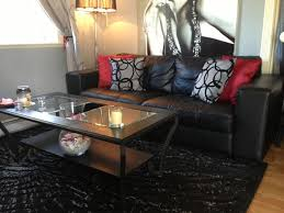 living room decorating ideas black leather couch living rooms