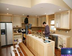 galley kitchen recessed lighting placement best light box
