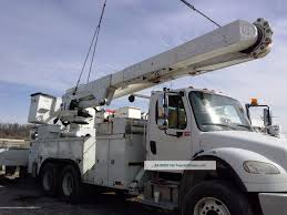 100 Altec Boom Truck 07 Lift Am55e 55 Overcenter For Utility Bucket