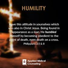 Humility Applied Biblical Counseling Words And Verses