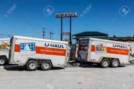 Kokomo - Circa May 2017: U-Haul Moving Truck Rental Location ...