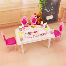 US $8.49 50% OFF|Miniature Furniture Pink Sweetheart Kitchen Table Set  Furniture Doll House Toys Dinner Tables And Chairs For Girls Play Toys-in  Dolls ... Table And Chair Set Fits 18 Dolls Diy Ding Chairs For American Girl Mentari Wooden Dollys Tea Party Setting Inclusive Of 2 By Mamagenius House Eames Kspring Thingiverse Pin On Lundby Dollhouse Room Miaimmiaturesbring Dolls Houses Back D1v15 Gazechimp 5pcs Simulation Miniature Fniture Toys Dollhouse Sets Baby For Kids Play Toy Kitchen Decor Hot New Butterfly Dressing Makeup Bedroom Disney Princess Royal Tea Party Playset Palace X 3 Sweet Vintage Wrought Iron Bistro With Extras