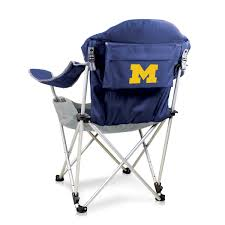 Reclining Camp Chair -Navy (University Of Michigan) Digital Print Trademark Innovations 135 Ft Black Portable 8seater Folding Team Sports Sideline Bench Attached Cooler Chair With Side Table And Accessory Bag The Best Camping Chairs Travel Leisure 4seater Get 50 Off On Sport Brella Recliner Only At Top 10 Beach In 2019 Reviews Buyers Details About Mmark Directors Padded Steel Frame Red Lweight Versalite Ultralight Compact For Wellington Event