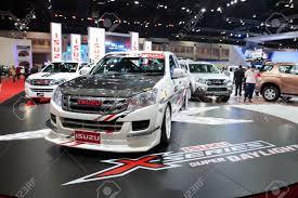100 Isuzu Mini Truck BANGKOK MARCH 26 Car On Display At The 35th