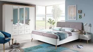 schlafzimmer set kolding bett schrank nako weiß coimbra