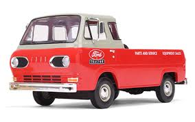 100 Ford Econoline Truck Wwwscalemodelsde FORD Pickup From 1960 With 3 Boxes