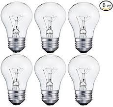 sunlight 6 pack 40 watt decorative a15 incandescent light bulb