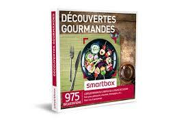 smartbox cours de cuisine coffret cadeau découvertes gourmandes smartbox