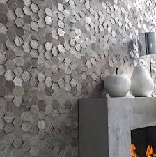 parement mural naturelle plaquette de parement naturelle crème hexagone cottage