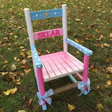 Hand-painted And Personalized Kid's Rocking Chair, Child's Little Rocker,  Baby Shower Gift, Baby Boy Gift, Baby Girl Gift, Kid's Room Decor Rocking Nursery Chair Hand Painted In Soft Blue Childrens Chairs Babywoerlandcom 20th Century Swedish Dalarna Folk Art Scdinavian Antique Seat Replacement And Finish Teamson Kids Boys Transportation Personalized White Wood Childs Rocker Kid Sports Custom Theme Girl Boy Designs Brookerpalmtrees Wooden Beach Natural Lumber Hot Sell 2016 New Products Office Buy Ideas Emily A Hopefull Rocking Chair Rebecca Waringcrane