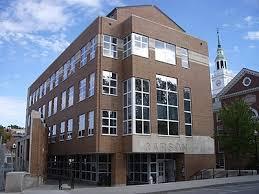 Carson Hall Dartmouth College In Hanover New Hampshire
