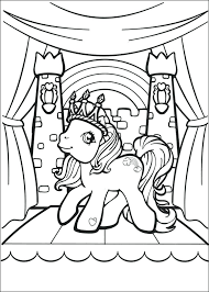 My Little Pony Coloring Book Pdf Games Pages Online Color Full Size