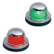 amrp 963dpchr perko chrome deck mount side navigation lights