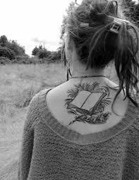Open Book Tattoo