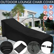 Details About New Water Resistant Furniture Chaise Lounge Chair Cover  Outdoor Protection Patio