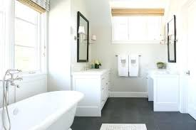 Slate Bathroom White With Floor Welsh Tiles