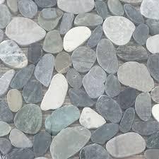 best 25 pebble tile shower ideas on pebble tiles