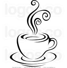 Coffee Clipart Black And White