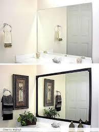 Diy Industrial Bathroom Mirror by Best 25 Frames For Mirrors Ideas On Pinterest Framed Mirrors