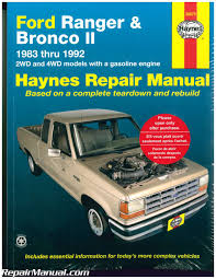 Ford Ranger Pick-up Trucks And Bronco II 1983-1992 Haynes Truck ... Bronco Truck Hot Trending Now Ford Promises To Debut New Suvs Pickups Sports Cars In 2019 Early Restoration Our Builds Classic Broncos Car Show September Trucks 67 Hotwheels This Is The Fourdoor You Didnt Know Existed Replacement Dash Lovely Center Console Pinterest Is Bring Back And Jobs Michigan Operation Fearless 1991 At Charlotte Auto You Can Have A Right Just Dont Expect It So Awesome I Need This What Will Do Put A Stainless 20 Will 325hp Turbocharged V6 Report Says Heres We Think Look Like