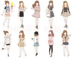 Girl Dress And Art Image